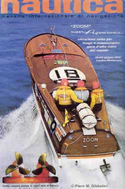 Class winner and 2:nd total in offshore race London-Monaco 1972
