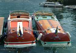 Aquarama #26 and Super Tritone #229 in Lake Como